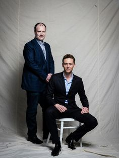Tom Hiddleston and Kevin Feige Portraits for MARVEL'S THOR: THE DARK WORLD, KOREA TOUR