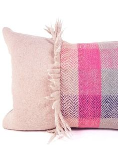 Tartan Herringbone Small Lumbar by My Vintage Pillow Designer Pillow, Pillow Design, Tailoring Techniques, Pink Room, Spring Home, Vintage Pillows, Handmade Shop, Dressmaking, Herringbone