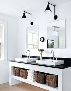 1000+ images about Bathrooms on Pinterest Vanities, Powder rooms and Subway tiles
