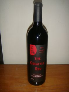 The Grateful Red by Two Saints Winery in St. Charles, Iowa