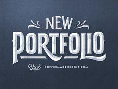 New Portfolio by Simon Ålander #Design Popular #Dribbble #shots