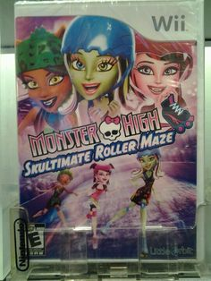 Monster High: Skultimate Roller Maze (Nintendo Wii, for sale online Monster High Games, Maze Game, Player 1, Wii Games, Nintendo Ds, Best Graphics, Comic Books, Ecommerce, Kid Stuff