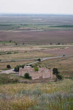 A view from the ancient Armenian city of Tigranakert, on the eastern border of…