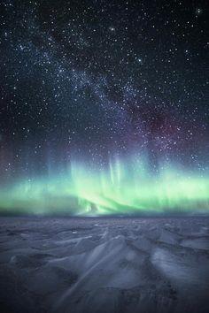 Northern Lights & Milky Way