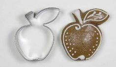 Nerezové vykrajovátko jablko Cookie Cutters