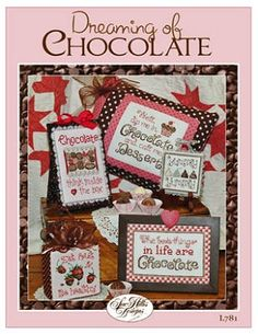 Dreaming of Chocolate Counted Cross Stitch Pattern