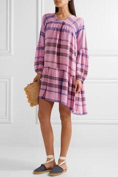 APIECE APART Idina Wabi printed voile mini dress