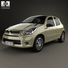 Citroen C2 (CN) 2006 3d model from humster3d.com. Price: $75