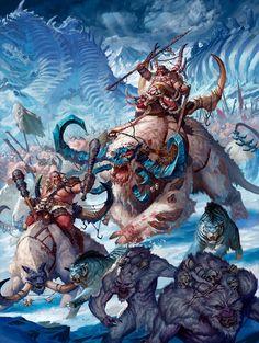 Ogor Beastclaw Raiders