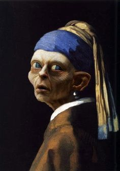 (girl with a pearl earring, Johannes Vermeer)