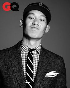 Jeremy Lin x GQ, my son will probably look like this when he's older