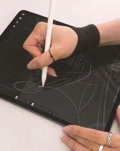Computer Kunst, Digital Art Beginner, Digital Art Anime, Ipad Art, Digital Art Tutorial, Pencil Art Drawings, Portrait Art, Art Tutorials, Digital Illustration