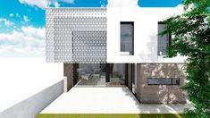 ↠ #PROYECTO | · Casa Mia · Confort térmico y lumínico gracias a la celosía #cerámica mediterránea #arquitectura #residencial #vivienda