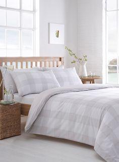 Dorset Check printed bedding set - patterned - bedding sets - Bed Linen - Home, Lighting & Furniture- BHS
