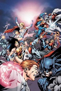 Justice League vs Wildstorm by Ivan Reis