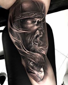 Cool Half Sleeve Tattoo Ideas For Men - Best Half Sleeve Tattoos For Men: Cool Upper Arm, Half Sleeve Tattoo Designs and Viking Tattoo Sleeve, Half Sleeve Tattoos For Guys, Half Sleeve Tattoos Designs, Best Sleeve Tattoos, Tattoo Designs, Viking Tattoos For Men, Viking Warrior Tattoos, Forearm Tattoos, Body Art Tattoos