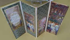 Handmade A4 Four-Fold Greeting Card  Friend by BavsCrafts on Etsy