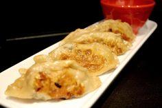 Pork and Seaweed Gyoza (Japanese steamed dumplings)