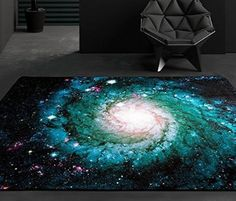 galaxy space rug space themed bedroom ideas http://wallartkids.com/space-themed-bedroom-ideas