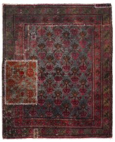 Over-Dyed Distressed Rugs