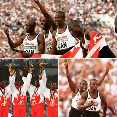 Those guys played a major role in my life. They made me want to achieve greatness, they ignited that fire that drive me til today. 1996 Atlanta Olympic Games inspired me to this day!!! #acheivers#striveforgreatness#insoiration#canada#trackandfield#athleteslife#workethic#goldmedals#atlanta#olympics1996#donovanbailey#brunysurin#Montreal