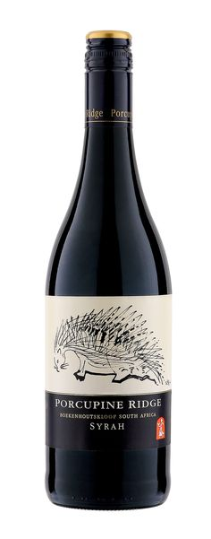 """Wine Spectator  """"The 2012 Porcupine Ridge Syrah Coastal Region uses all Swartland fruit, and it shows light-bodied cherry, white pepper and spice notes with a charming finish. At around $12, it's another hard-to-beat value."""""""