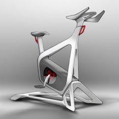 alternate concept sketch: dynamic, racing, posture