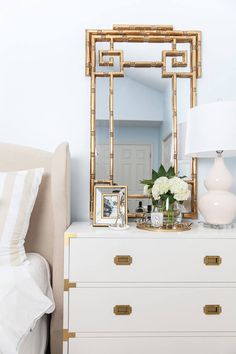 Touring The Glamorous, Feminine Home Of Mallory Fitzsimmons | Glitter Guide