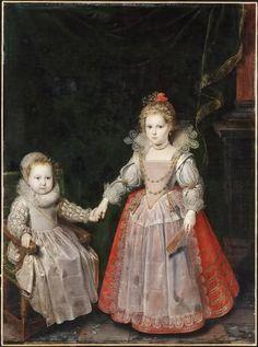 Pourbus - Philippe Emmanuel de Croy-Solre (1611-1680), con la sorella Marie.