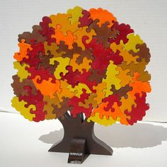 Autumn Tree 3D Puzzle