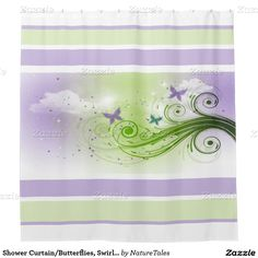 15% Off All Orders     50% Off All Cards, Labels & Stickers     Ends Tomorrow!     Use Code: SENDLOVEXOXO  Shower Curtain/Butterflies, Swirls and Clouds Shower Curtain