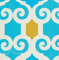 Jennifer Paganelli fabric SUPERFLY JANE IN Blue    by GlamFabrics, $4.50