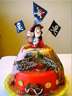 Birthday greetings from Captain Hook, himself!
