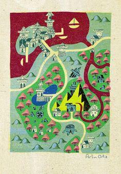 Map a Day 7! | Arlin Ortiz on Patreon