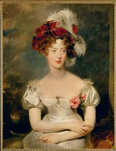Marie-Caroline de Bourbon-Deux-Siciles, Duchess of Berry by Sir Thomas Lawrence  (grey pony), via Flickr