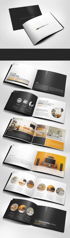Professional Modern A5 Catalogue Brochure by ~24beyond on deviantART