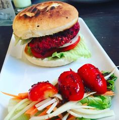 We visited The Artillery Cafe Phnom Penh for some delicious, pretty, and healthy plant-based food. Being Vegan in Phnom Penh, Cambodia is so easy! Vegan Restaurants, Phnom Penh, Vegan Recipes, Vegan Food, Plant Based Recipes, Cambodia, Hamburger, Healthy, Ethnic Recipes