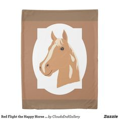 Red Flight the Happy Horse Reversible Duvet Cover - red gifts color style cyo diy personalize unique Red Duvet Cover, Duvet Covers, Counting Sheep, Red Gifts, Diy Stuffed Animals, Home Gifts, Animals And Pets, Design Art, Horses