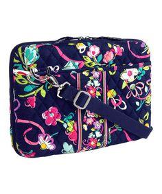 3800c5ba64f0 Look at this  zulilyfind! Ribbons Mini Laptop Case by Vera Bradley  zulilyfinds  Laptop