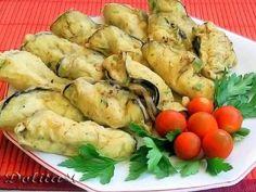 Receta Entrante : Empanadillas de berenjenas rellenas por Dolita