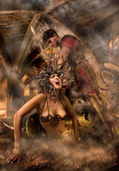 Greek Mythology - Perseus killed Medusa