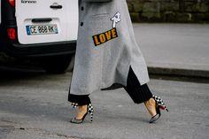 Street Style Par�s Fashion Week Oto�o Invierno 2016 Pinterest: KarinaCamerino