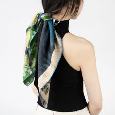 Break those fashion rules and still look fabulous with this bold mix print scarf. The colored patchwork is reminiscent of a sunny meadow, painted with vibrant strokes and dazzling shapes. Belts For Women, Hats For Men, Clothes For Women, Spanish Men, French Man, Japan Woman, Women's Briefs, German Women, Italian Men