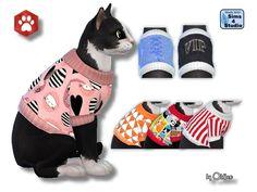Pullover für Katzen - Oldbox´s Sims 4 Tierhandlung - All4Sims.de