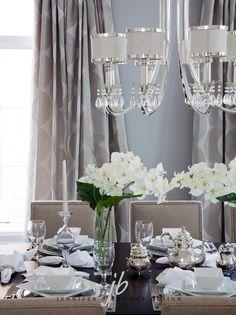 Kimbark dining room designed by Jennifer Brouwer Design. #jbd #intdesign #diningroom #customdesign