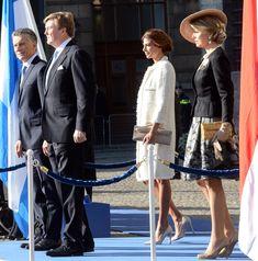Las mejores fotos de la visita de Mauricio Macri a Holanda