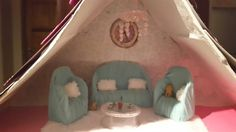 Barbies Stylish living room