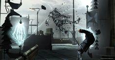 #dishonored #cage46 Com a Bethesda Softworks publicando este game as expectativas são enormes depois de seu sucesso com Skyrim e Fallout