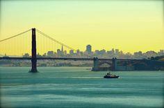 "Good Morning, San Francisco! Photography on Canvas, 20 "" x 30 "" www.alexisgreenberg.com"