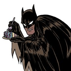 batman loves his cake